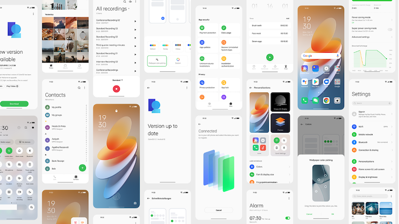OPPO Officially Launches the Global Version of ColorOS 12