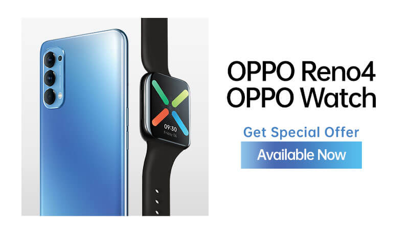 OPPO Reno4 Available Now