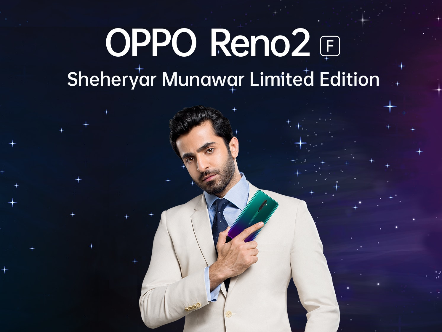Photography Powerhouse OPPO Reno2 F Shahryar Munawar Special Edition set to Redefine Creativity in Pakistan