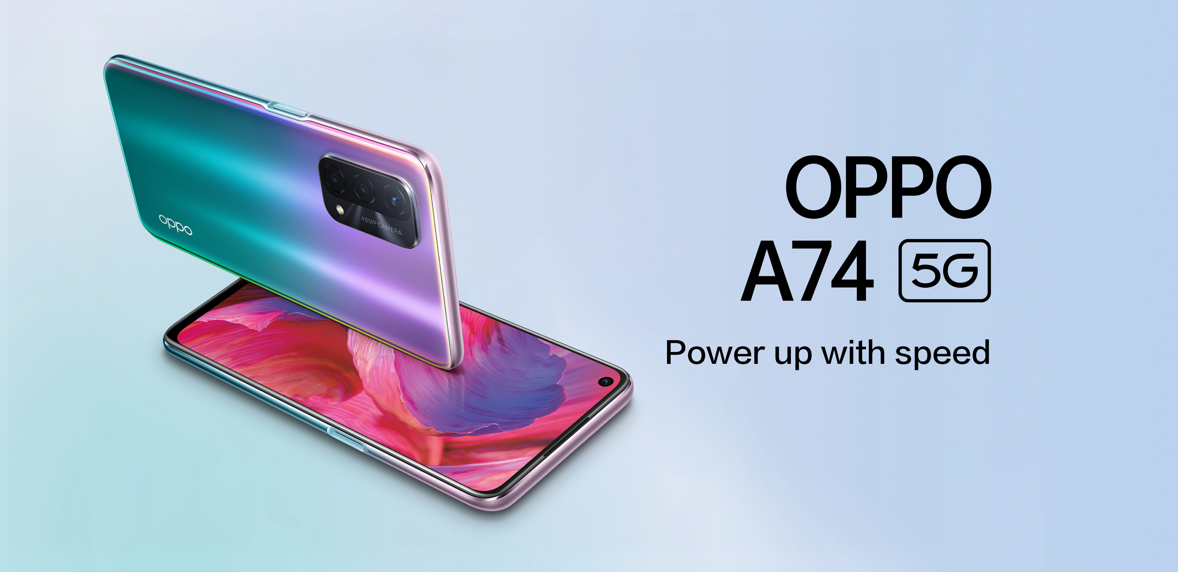 OPPO A74 5G Empowers your day