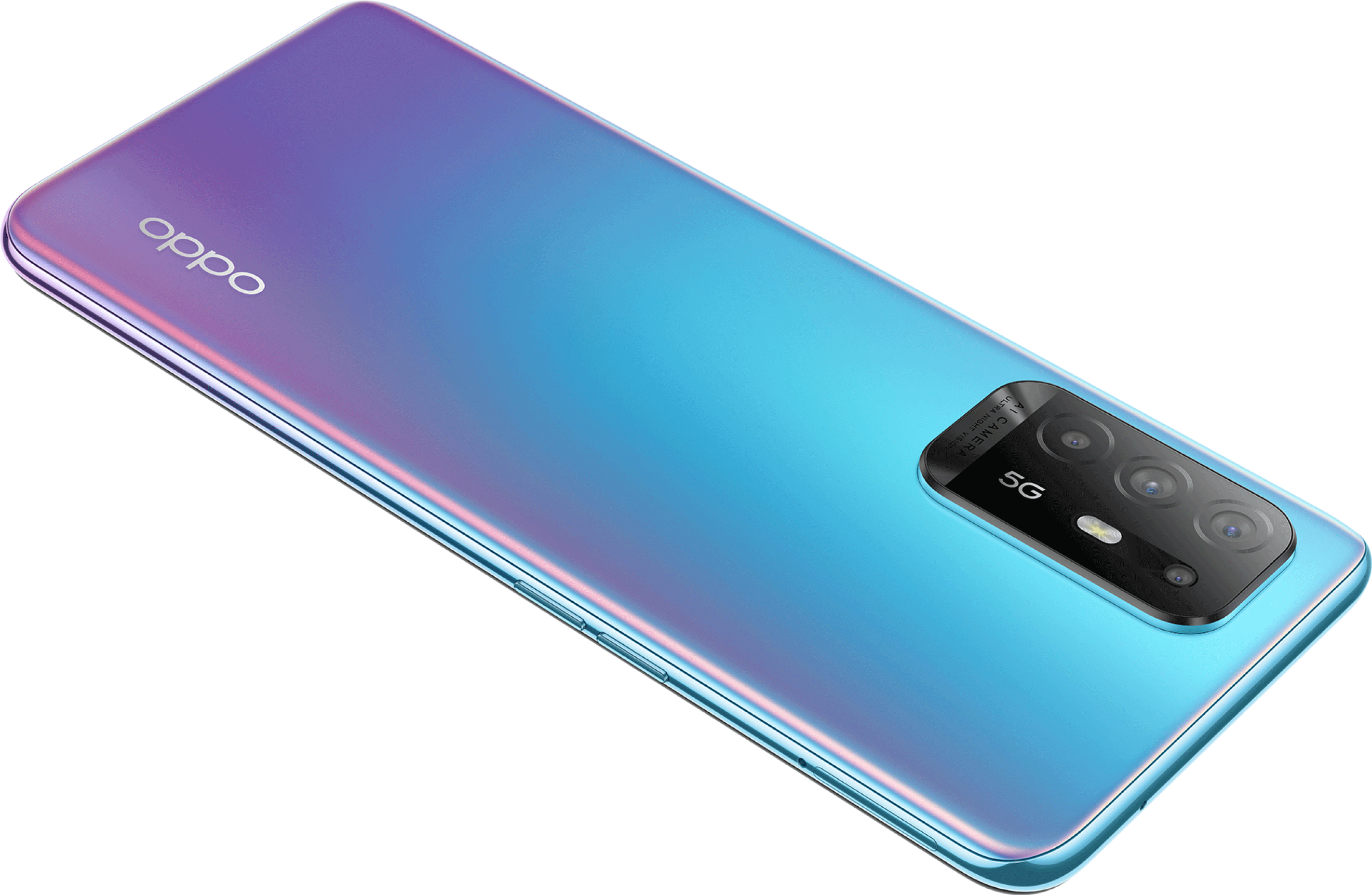 OPPO Reno5 Z One-Piece Quadcam