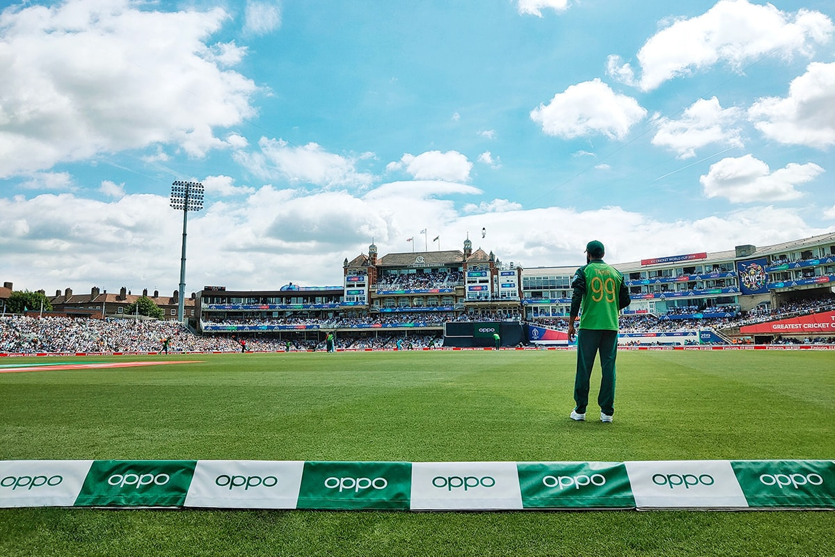 OPPO celebrate unmissable summer of sport at first game of ICC Men's Cricket World Cup 2019